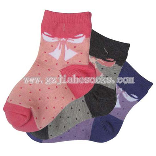 Cute Bowknot Baby Girl Socks