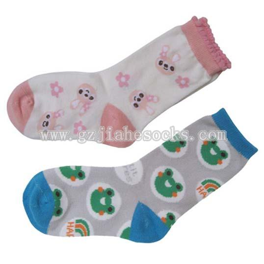 Cotton Cartoon Kid's Socks