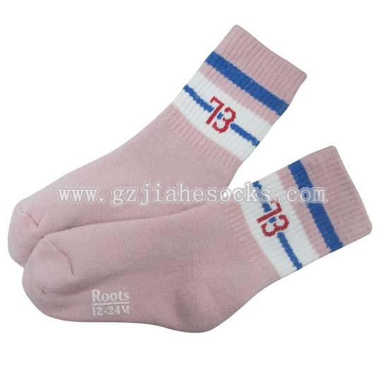 Anti-slip Terry Tube Baby Socks