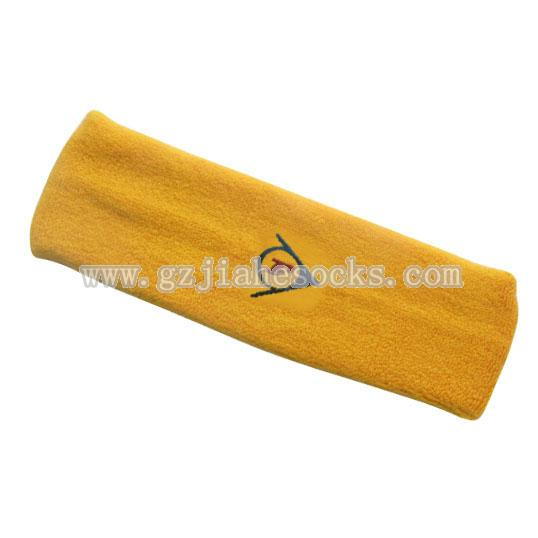 Custom embroidered logo headbands