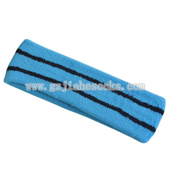 Custom Wholesale Stripe Sport Headband