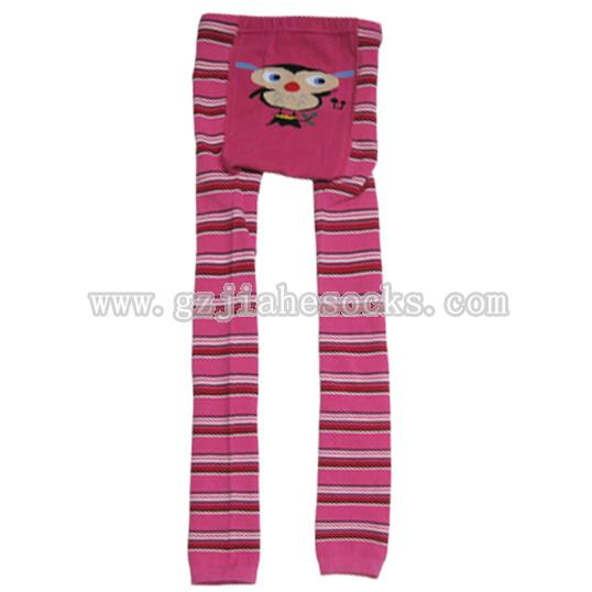Knitted children's cartoon pantyhose