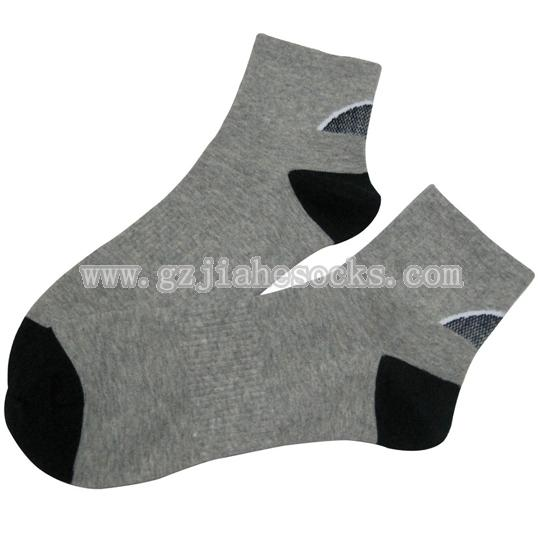 High quality mens cotton sports socks
