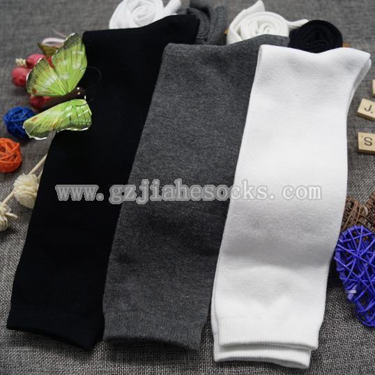 knee high cotton school socks