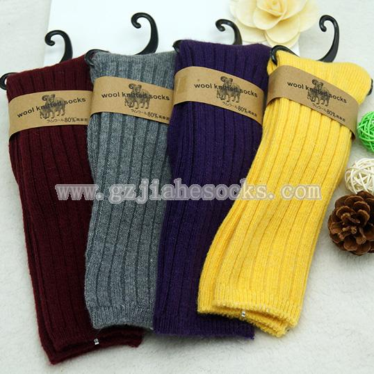 winter long children wool socks
